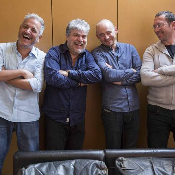 Lupa Santiago, Sergio Galvão, Franck Enouf e Clement Landais